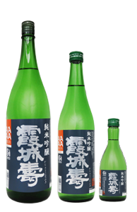 純米吟醸 霞城寿 1.8ℓ 720㎖ 300㎖